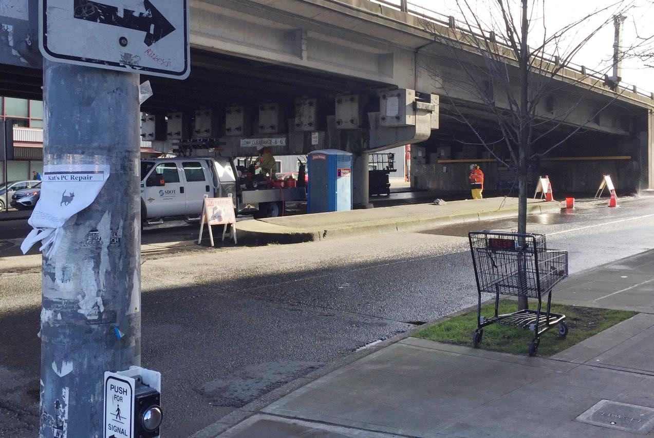 Ballard Bridge Status: 1/10/2017 | The Blog Quixotic